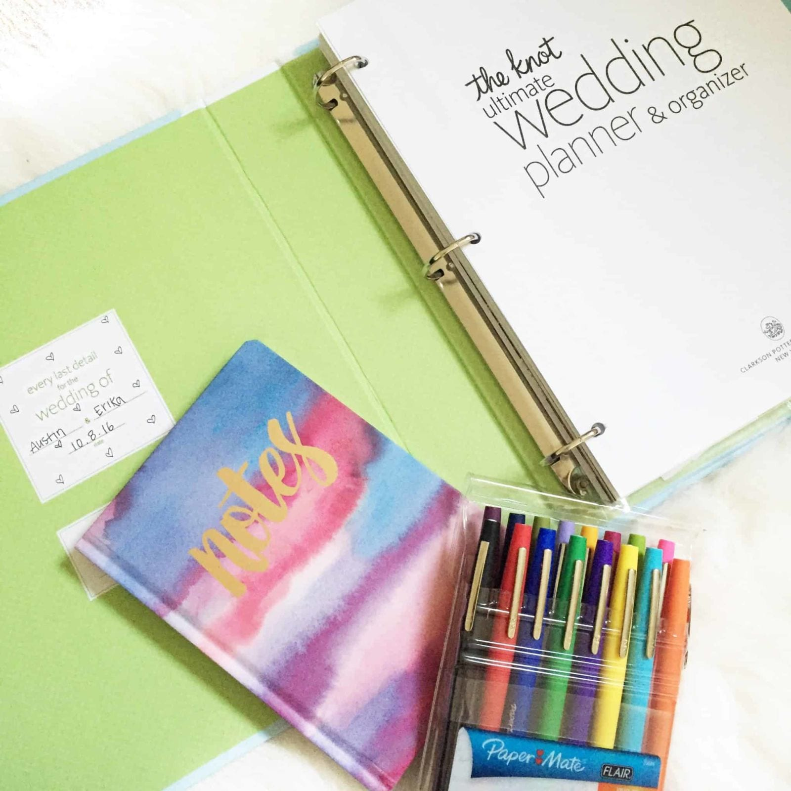 Get Organized for Wedding Planning!