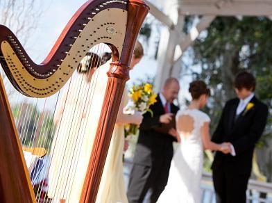 Top 10 Wedding Requests for Solo Harp