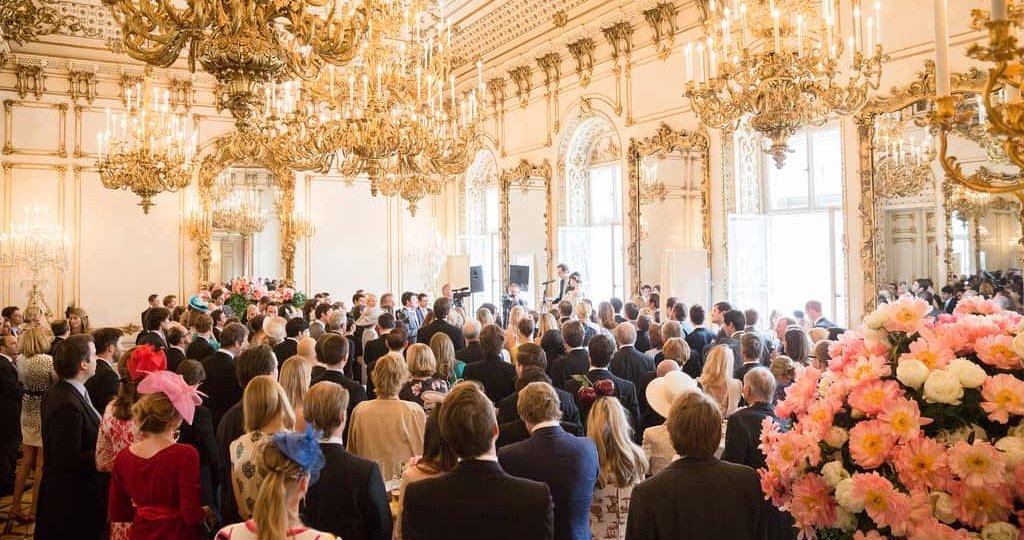 Wedding of Caroline Sieber to Fritz Von Westenholz