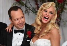 ST CHARLES, IL - AUGUST 31:  Donnie Wahlberg and Jenny McCarthy get married at Hotel Baker in St Charles, Illinois .  (Photo by Brian Babineau/brianbabineau.com via Getty Images)