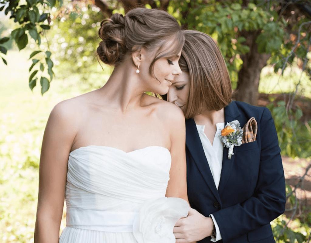 Happy brides