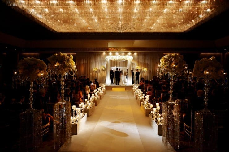 Elegant Ritz Carlton wedding