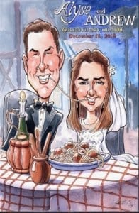 Lady and The Tramp Wedding gift