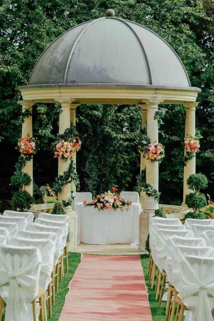 Chicago Wedding Beautiful Outdoor Ceremony