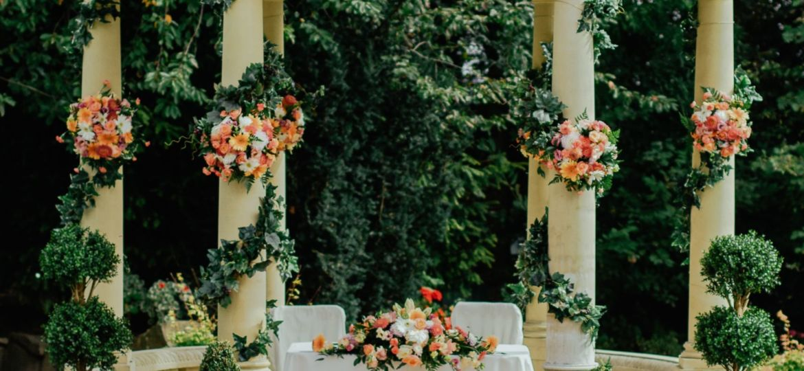 Chicago Wedding Beautiful Outdoor Ceremony