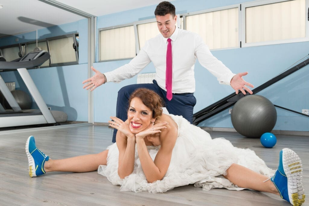 Stress of wedding planning